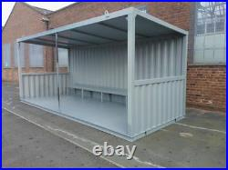 12FT SMOKING SHELTER FOR SALE. Any size and style can be made Ideal for pubs