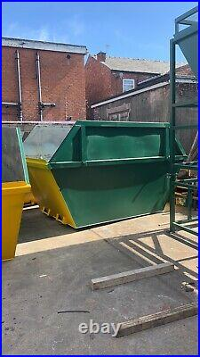 12 Yard Open Flat Top Skips, Brand new, Painted your colour, In stock Now