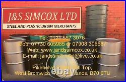 205 Litre/45 Gallon Brand New Closed Top Steel Drum/barrel/container