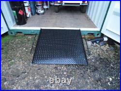 20FT and 40 FT Container Ramps, access ramps containers, patent design ISORAMP
