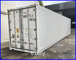 20 & 40 Ft Refrigerated Shipping Containers (Reefer) New And Used