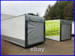 20 Foot Insulated Storage Container With New Roller Shutter Door