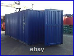 20' Fully Side opening storage container