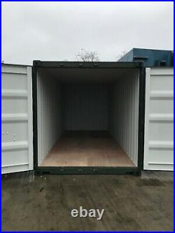 20' one trip shipping container