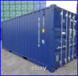 20ft Brand New (One Trip) Shipping Container
