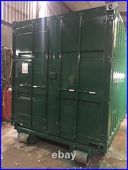 20ft Container Hook Lift Skid Screwdown ISO Locks HEAVY DUTY