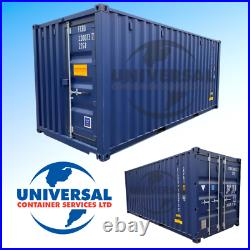20ft NEW One Trip Shipping Container EXTRA DOOR