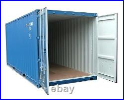 20ft NEW build Shipping container IN STOCK. Southampton and c. One only + vat