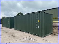 20ft One Trip Shipping container +VAT
