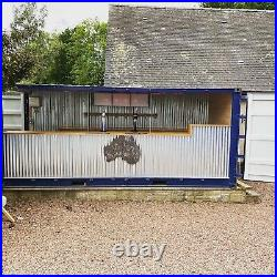 20ft Shipping Container Bar / Restaurant Conversion