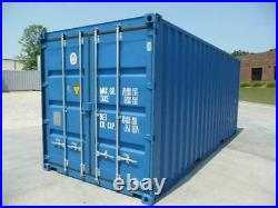 20ft X 8ft X 8ft New'one Trip' Shipping Container Southwales Green Only