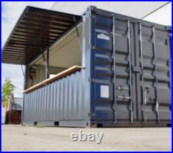 20ft x 8ft Bar/street Food/events/festivals Shipping Container-Leeds