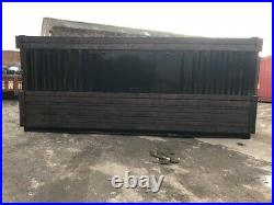 20ft x 8ft Cladded Food/Drink Outlet shipping container Birmingham
