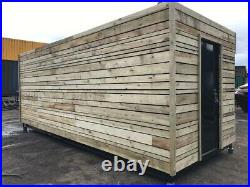 20ft x 8ft Cladded Food/Drink Outlet shipping container Southampton