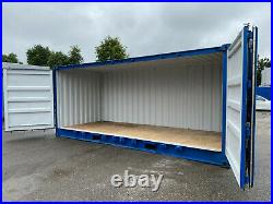 20ft x 8ft Full Side Opening Shipping Container Storage Container Lock Box