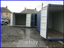 20ft x 8ft One Trip Shipping Container's For Sale Scotland portable cabin shed