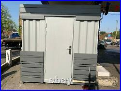 20ft x 8ft Partial Cladded Food/Drinks Outlet Shipping Container Sheffield