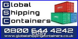 20ft x 8ft Roller Shutter Shipping Container