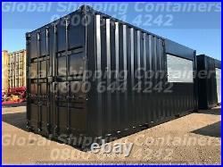 20ft x 8ft Roller Shutter Shipping Container / Shop / Kiosk / Bar