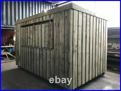 20ft x 8ft Shipping Container Shop/Food Hut/Market Stall/Burger Bar (Birmingham)