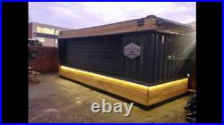 20ft x 8ft Shipping Container Shop/Food Hut/Market Stall/Burger Bar (Liverpool)