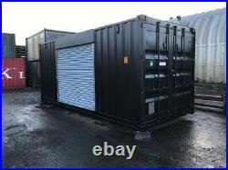 20ft x 8ft Shipping Container Shop/Food Hut/Market Stall/Burger Bar (Manchester)