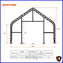 20x40FT double trussed storage tent