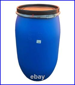 220l Brand New Plastic Shipping Drum Barrel Container With Clip And LID