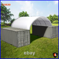 26 x 20 FT SHIPPING CONTAINER CANOPY / SHELTER, SHED GALVANISED STEEL FRAME