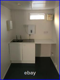 32ftx10ft Anti Vandal Open Plan Office Toilet Brand New Kitchen Portable Cabin