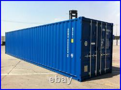 40ft HIGH CUBE One Trip Shipping Container NEW Nationwide Stock and Delivery