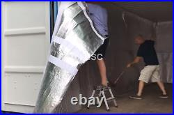 40ft High Cube Shipping Container Insulation and Condensation Control