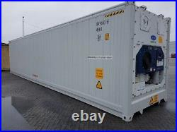 40ft Refrigerated Containers New, Single Trip