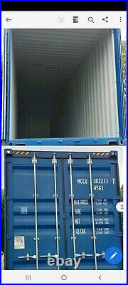 40ft high cube shipping container NEW 2021, London, Birmingham, Leeds, Immingham