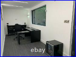 40ft portable office showroom shipping container modular office marketing suite