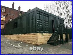 40ft x 16ft shipping container modular Birmingham