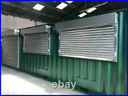 40ft x 8ft Double Roller Shutter Shipping Container/Kiosk/Conversion Liverpool