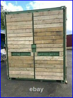 40ft x 8ft cladded shipping container Peterborough