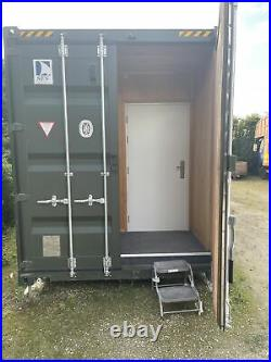 40x10 New Shipping Container, Insulated With Electrics