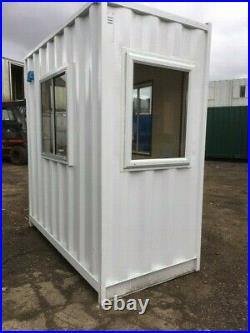 4ft x 8ft shipping container office/gate house Preston