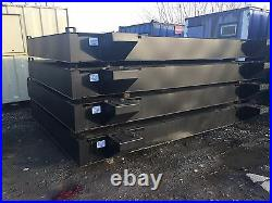 575 gallon 12ft x 8ft x 1ft deep Waste/Effluent Tanks Brand New