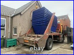 6 Yard Open Flat Top Skips, Brand new, Painted your colour, In stock Now