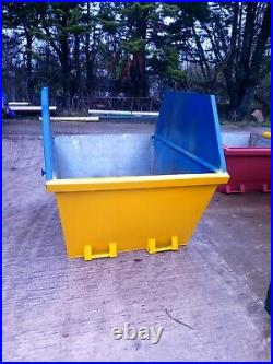 6 yard skips extended from 4 yard skip, painted custom colour of your choice