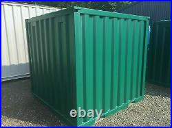 6ft x 6ft Green Steel Container Brand New