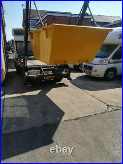8 Yard Open Flat Top Skips, Brand new, Painted your colour, In stock Now