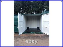 8ft Green Shipping / Storage Containers