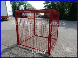 9 x 19kg Propane Gas Cage Cylinder storage Bottle cage 1200h x 1200w x 1200d