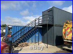 Container Stairs, Metal Staircase Double Landing