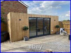 Converted Shipping Container 20X8ft Holiday Home Portable House Garden room bar
