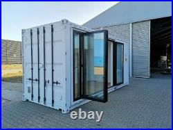 Converted Shipping Container 20ft Holiday Home Portable House Cabin Garden room